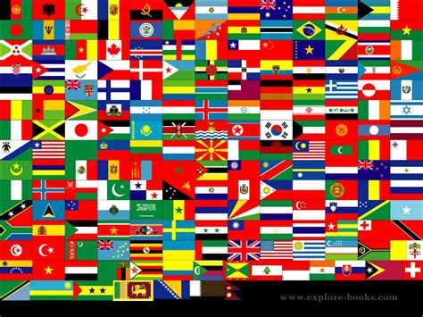 flags of the world by colour scot colors