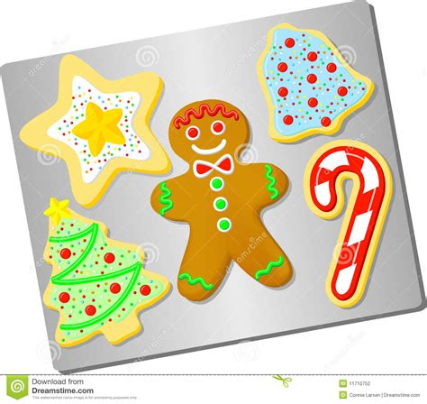 Candy Cane Decoration Christmas Cookies Ai Stock Photography Image 11710752