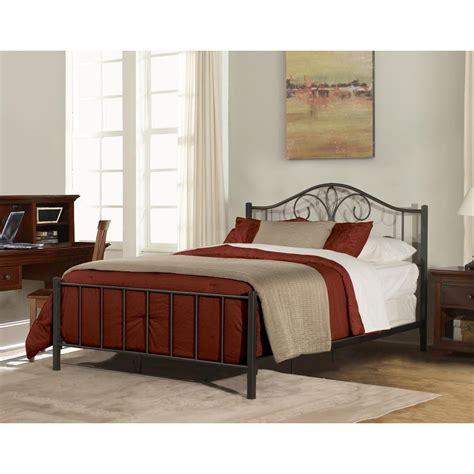 hillsdale furniture kenosha black sparkle bed in one