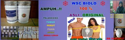 Pelangsing Wsc Biolo pelangsing wsc biolo asli original import