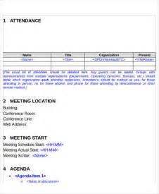 informal meeting minutes template 6 informal meeting minutes template free premium