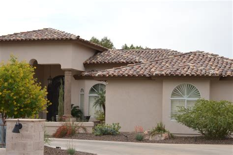 two piece tile roof glendale az mediterranean exterior phoenix by thomas roofing llc