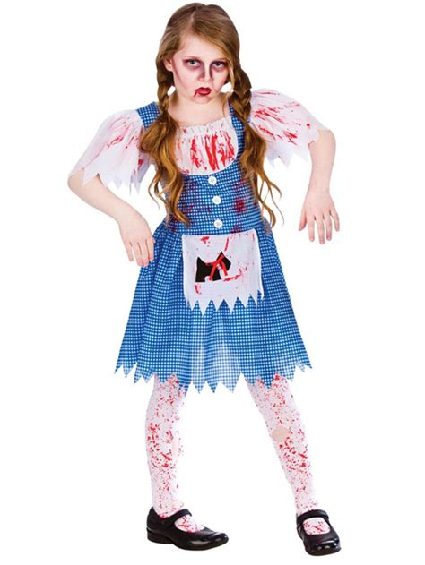 Party City Christmas Costumes - girls 5 13 dead deadly dorothy zombie oz walking halloween fancy dress costume buy online