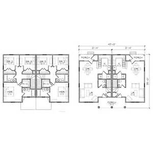 Duplex Building Plans Maple Duplex Queen Anne Floor Plan Tightlines Designs