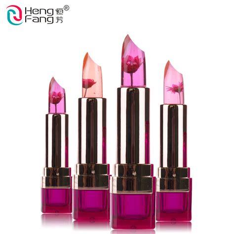 hengfang moisturizing lip colors balm murah hengfang brand temperature changed jelly lipstick