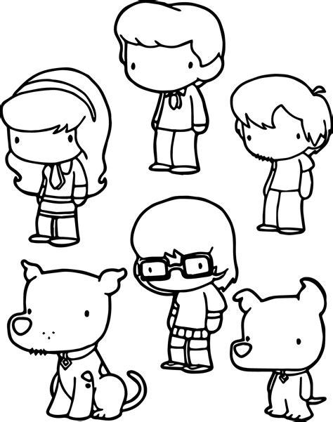 chibi characters coloring pages cute delilah chibi drawing coloring page coloring pages