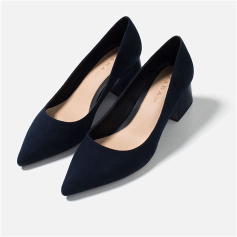 are zara shoes comfortable medium heel pointed shoes view all shoes woman zara