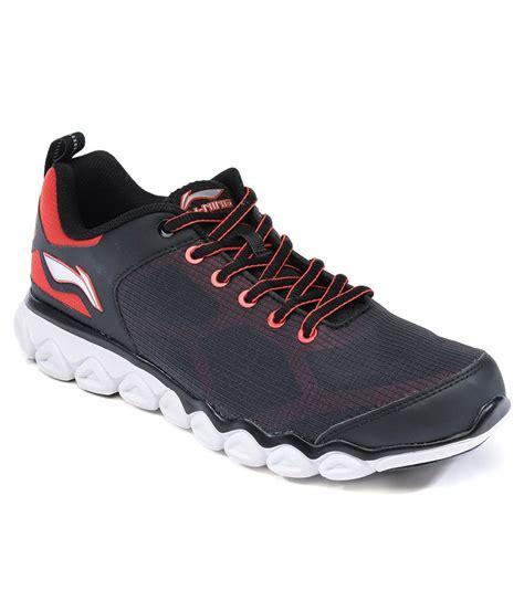 li ning sports shoes li ning black sport shoes price in india buy li ning