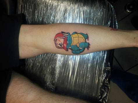 squirtle tattoo squirtle tattoos