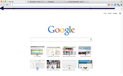 google themes original crunchyroll forum what s your google chrome theme