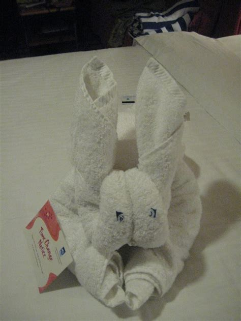 tutorial towel origami 17 best images about cruise ship towel folding towel