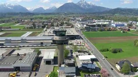 salzburg flughafen salzburg airport tower bau im zeitraffer tower build