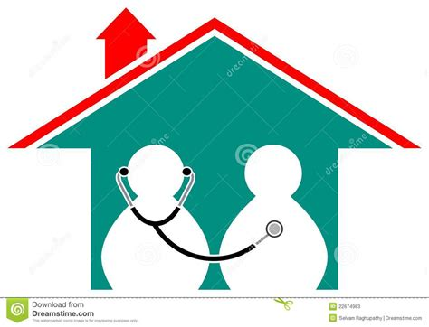 health care home stock vector image of abstract cure