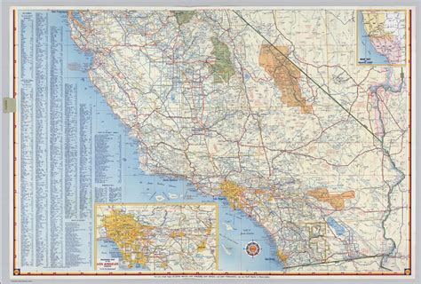 printable road map of california popular 202 list california highway map