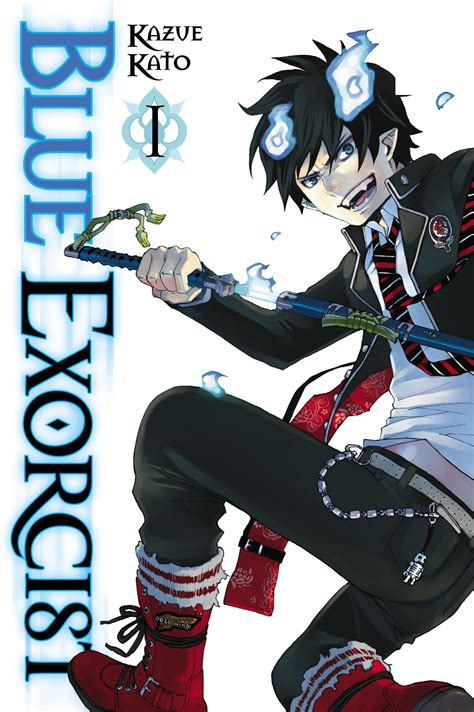 16 and with volume 1 books blue exorcist vol 1 book by kazue kato official