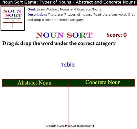 is room a concrete noun edtech213nouns licensed for non commercial use only nouns