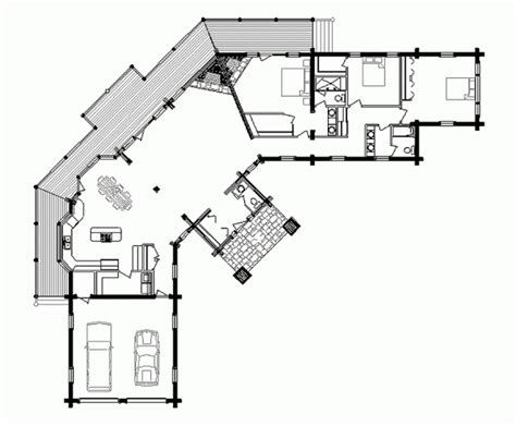 Log Cabins Designs And Floor Plans by Artistic Luxury Log Home Floor Plans And Designs With Two