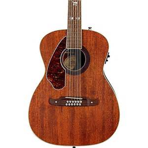 Fender tim armstrong left handed hellcat 12 string acoustic electric