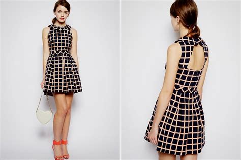 pattern skater dress skater dress with sleeves pattern naf dresses
