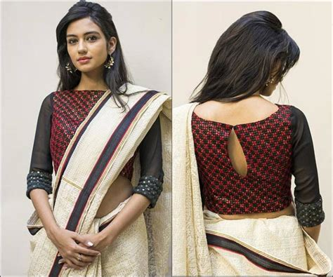 boat neck side zip blouse boat neck blouse design for sarees ब ट न क ब ल उज ड ज इन