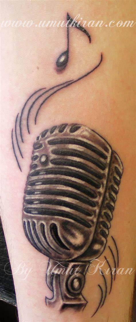 microphone tattoos 1000 images about guitars of jim bailey on