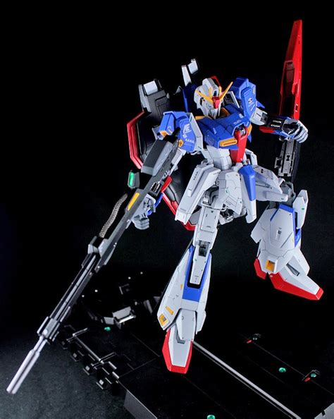 Zeta Gundam Ver20 Z Gundam Mg 1100 gundam mg 1 100 zeta gundam customized build