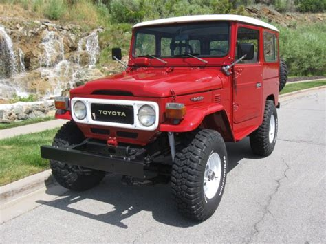 1981 Toyota Land Cruiser Purchase Used 1981 Toyota Land Cruiser Fj40 In Lindon