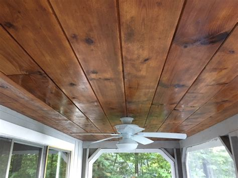wood ceiling restoration restoring a tongue a groove