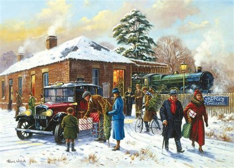 Holiday Station Gift Card - nearly home by kevin walsh kevin walsh pinterest vintage christmas cards