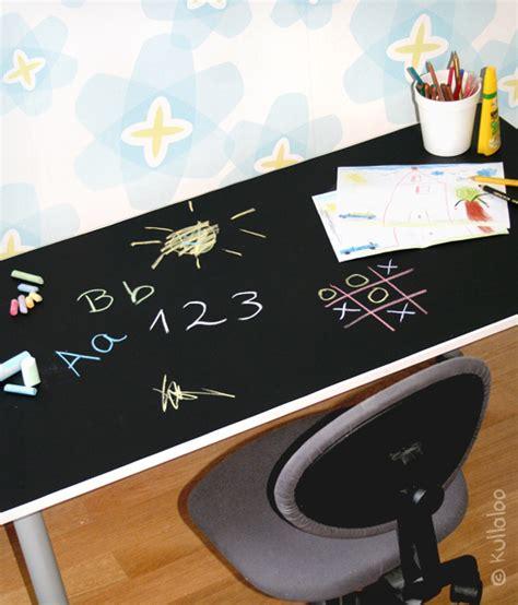 tafelfolie ikea ikea kinderzimmer schreibtisch mit tafelfolie bekleben