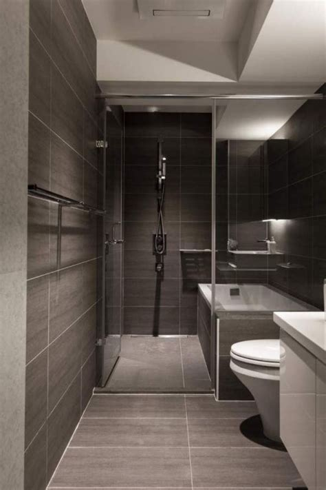creative of modern small bathroom design in home design