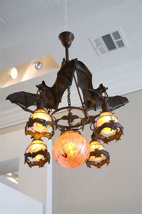 Geeks On Fashion Parade See Bronze Bubbles And by Austrian Bronze Bat Chandelier With Glass Orbs Fuller