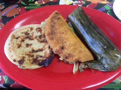 Pastel Vegetarian vegetarian pupusa pastel and tamal picture of pupusita express lake zurich tripadvisor
