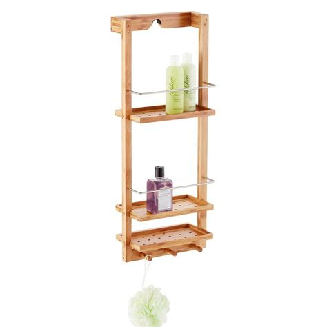 3 tier wooden bathroom caddy 1000 ideas about shower caddies on pinterest corner shower caddy wood bathtub and
