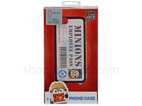 Limited Edition Magic Saw High Quality Murah iphone 5 5s despicable me stuart employee pass back limited edition