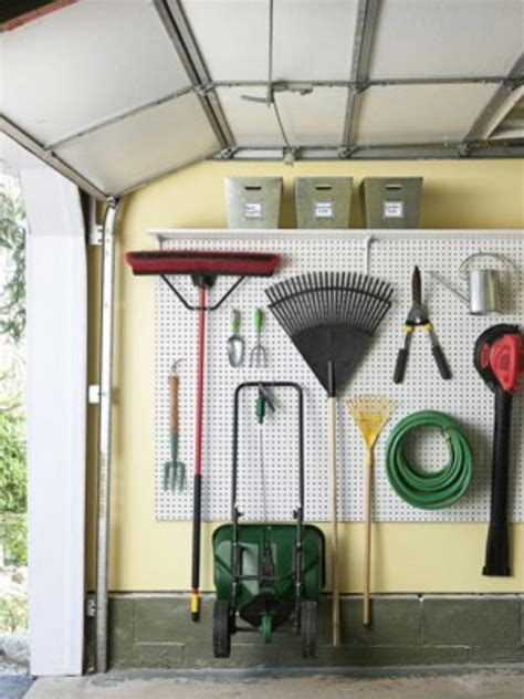 organizing garage space 24 smart garage organization do it yourself projects to do