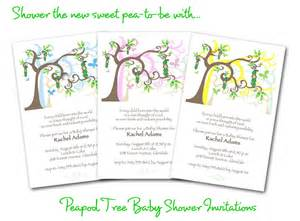 gallery for gt baby shower tree invite