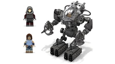Lego Avatar Concept by Exo Suit In Its Week Day And A Mecha Showcase