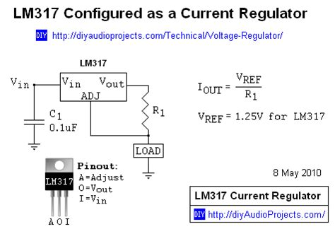 lm317 resistor wattage potentiometer led matrix dimming how to the current in a 12v led l for