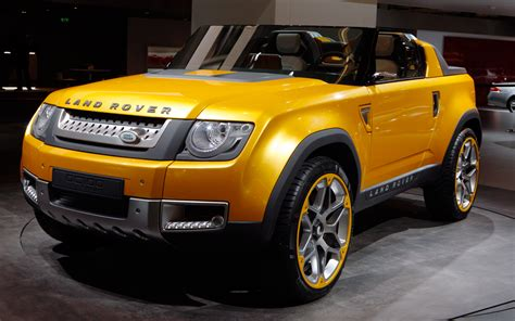 Wet Land Crossing 2017 Land Rover Dc 100 Hybrid Sport Concept