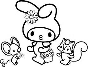 my coloring book my melody coloring pages coloring pages