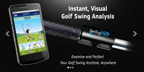 golf swing speed app android swingtip attaches to your golf club shows why you suck