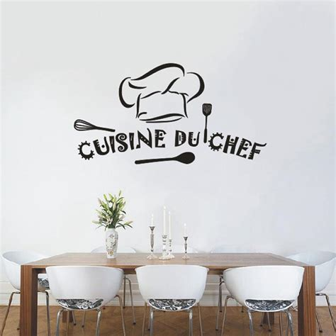 stickers deco cuisine popular chef decor buy cheap chef decor lots from china chef decor