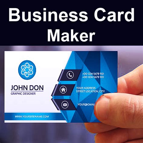 Business Card Creator App