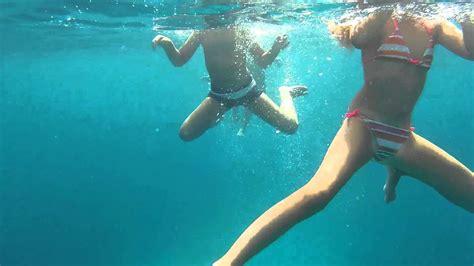 Underwater Fun In Bol Croatia Feat Calvin Harris