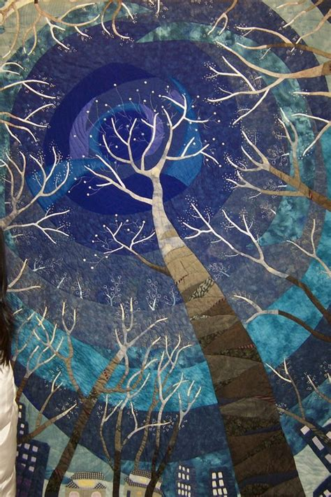 Quilted Tree by Tree Quilting Pattern Patterns Gallery