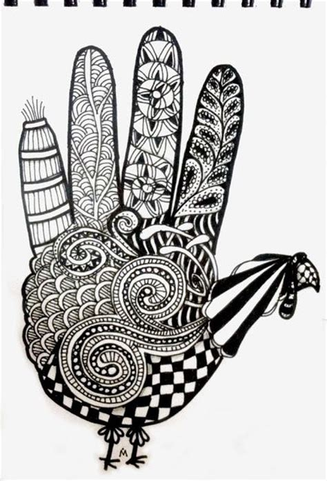 zentangle turkey coloring page 1000 images about art zentangle holiday on pinterest
