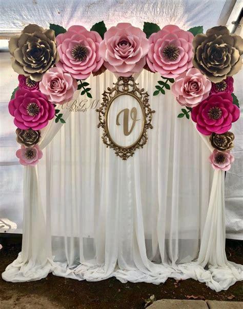 backdrop design for sale paper flower backdrop arts crafts in vernon ca offerup
