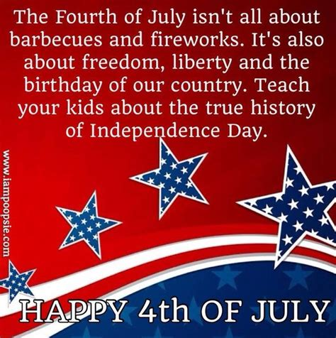4th Of July Birthday Quotes by 4th Of July Inspirational Quotes Quotesgram