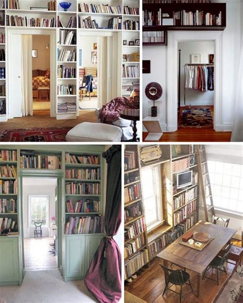 beautiful overhead bookcases space saving shelving ideas